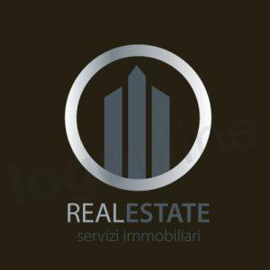 Logo online per immobiliare, compravendita, affitti. Logonline