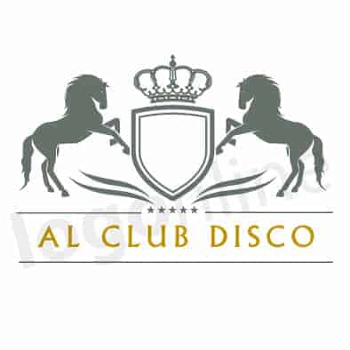 Logo online stemma cavalli e stelle. Per club, ristorante, discoteca, circolo. Logonline