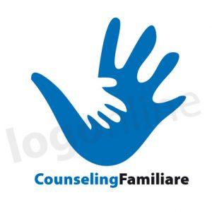 Logo online per associazione di stampo psicologico, aiuto alla famiglia, counseling. Logonline