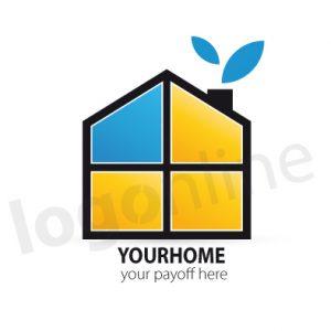 Logo online casa, servizi e agenzie immobiliari. Logonline