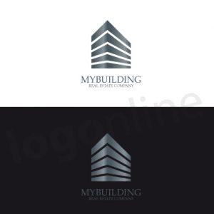 Logo monocromatico per società di capitali, immobiliare, finanziariaria, settore bancario e affini. Keyword: capitale, investimento, valore. Logonline
