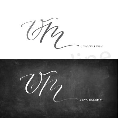 Preventivo logo con firma personalizzata, logo elegante. Logonline