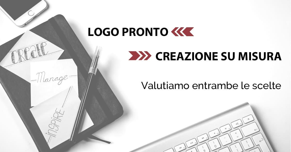 Logo pronto o creazione su misura? I vantaggi in entrambi i casi