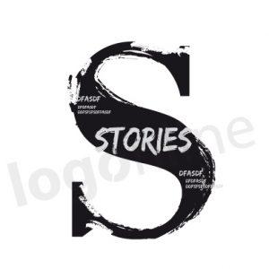 Logo online da personalizzare effetto grunge, vintage, inchiostro consumato. Logonline