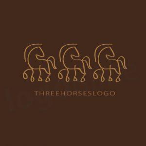 Logo con 3 cavalli