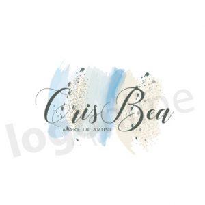Logo con pennellate colorate