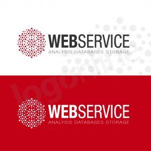 logo settore web, analisi dati, servizi web